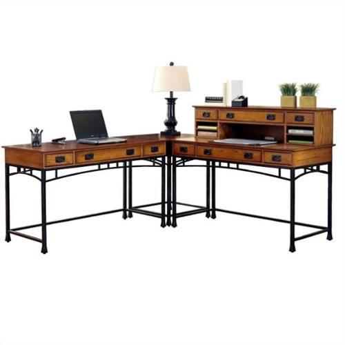 "Home Styles Modern Craftsman Corner ""L"" Desk"
