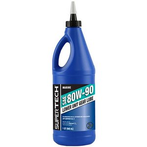 Super Tech 80W-90 Marine Gear Lube, 1 Qt