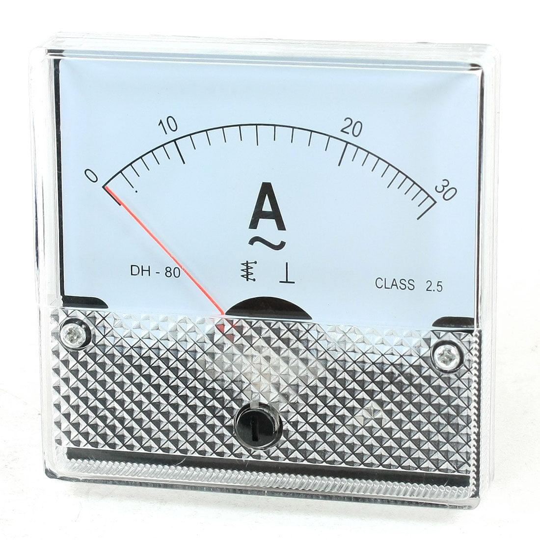 Fine Tuning Panneau AC 0–30 A Courant Analogique Compteur ampèremètre Amp Testeur - image 1 de 1