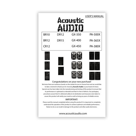 8 Inch 3-Way Carpeted Speakers - Pair - image 4 of 6