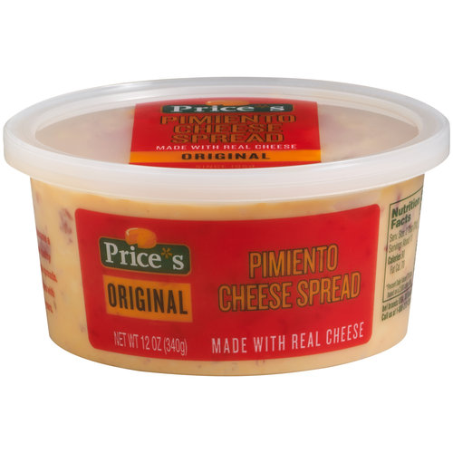 Price's Pimiento Cheese Spread, 12 oz