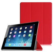 """Fintie SlimShell Case for iPad 9.7"""" 4th / 3rd / 2nd Generation with Retina Display, Red"""