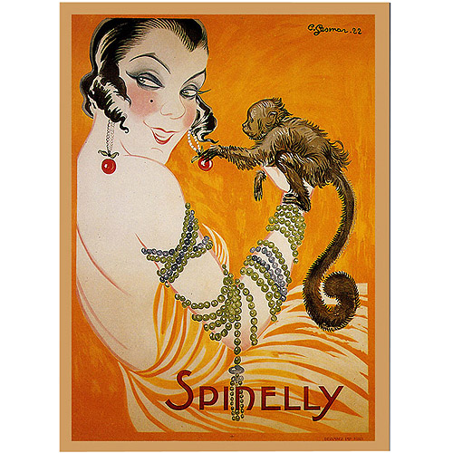 "Trademark Fine Art ""Spinelly"" Giclee Canvas Art"
