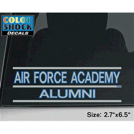 Air Force Falcons Decal - Air Force Academy Over (Alumni Decal)
