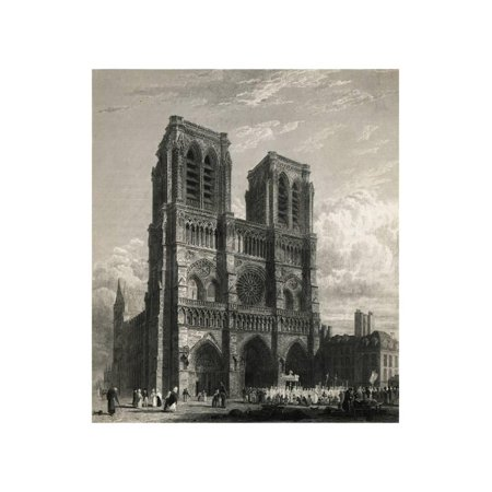 Notre Dame Cathedral Print Wall Art