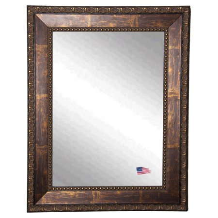 Rayne Mirrors Traditional Copper Bronze Wall Mirror