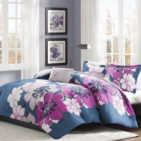 Allison Comforter Set Fuschia Twintwin Xl For A Fresh Look