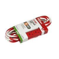 Deals on Hyper Tough 3-outlet 9ft Candy Cane Cord
