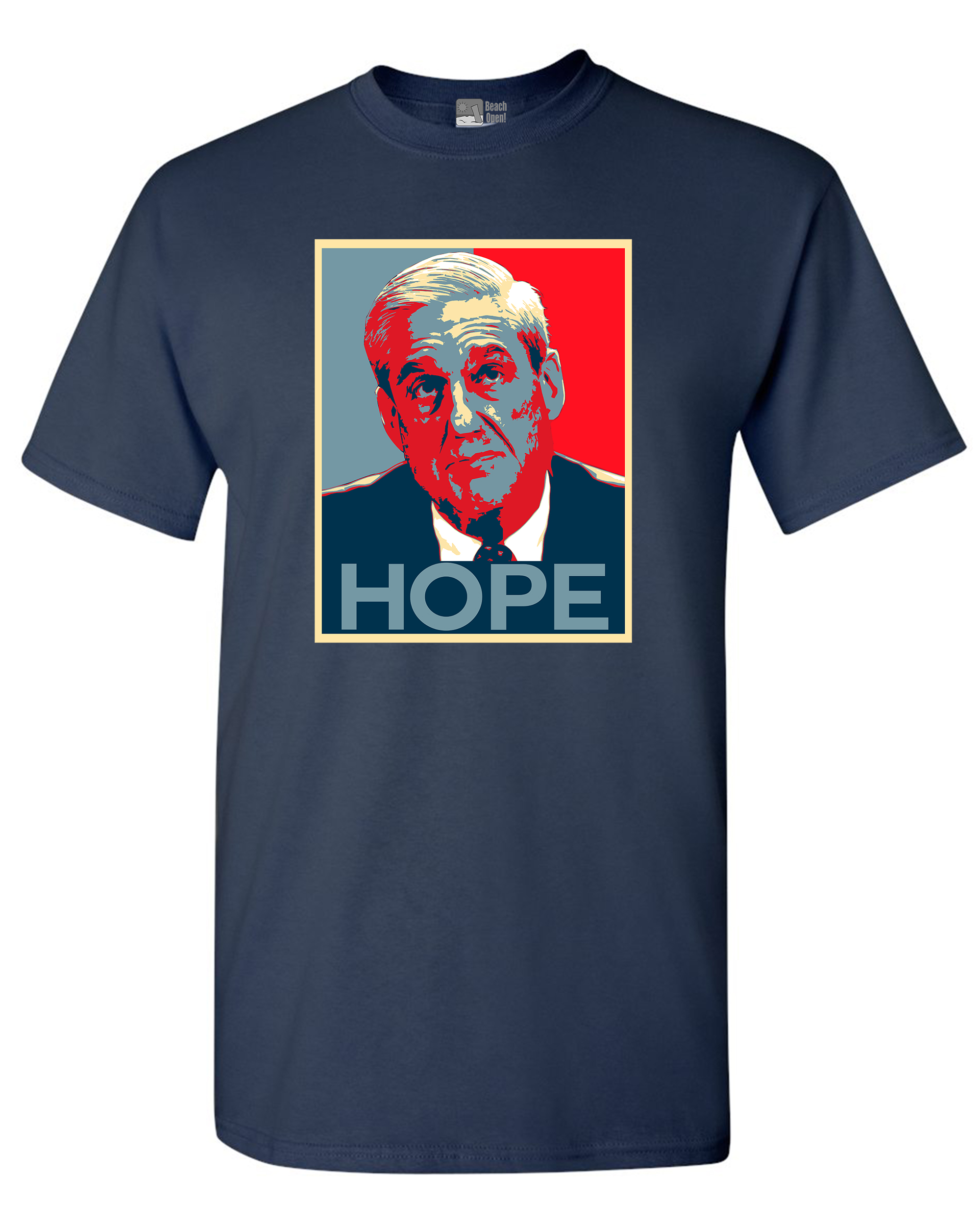 Robert Mueller Hope USA Support Political DT Adult T-Shirt Tee