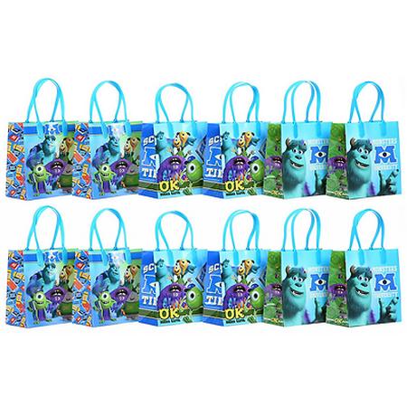 12PCS Disney Pixar Monsters University Goodie PartyFavor Gift Birthday Loot Bags](Monsters Inc Birthday)