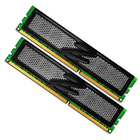 OCZ Obsidian Series Dual Channel Kit - DDR3 - 4 GB: 2 x 2 GB - DIMM 240-pin - 1600 MHz / PC3-12800 - CL9 - 1.65 V - unbuffered - non-ECC