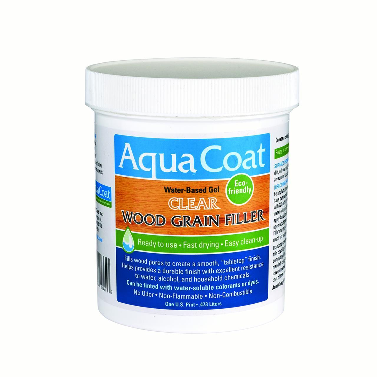 Aqua Coat Clear Wood Grain Filler Pt.