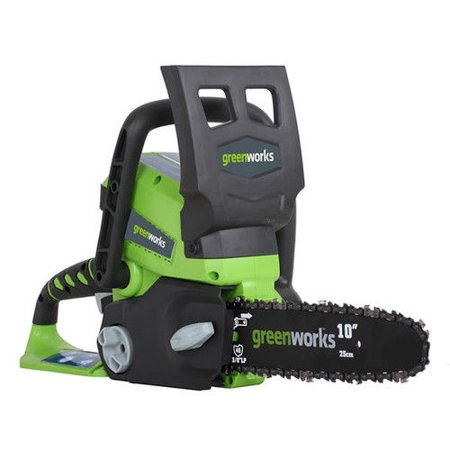 Greenworks 10-Inch 24V Cordless Lithium-Ion Chainsaw, Battery Not Included 20272