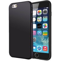 20d6c036b2 Product Image iPHONE 6 PLUS CASE, MATTE BLACK FLEXIBLE TPU SKIN CASE SLIM  COVER FOR APPLE iPHONE