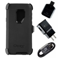 Accessory Kit for Samsung Galaxy S9+ (Plus) - Case/Cord/Plug/Adapter