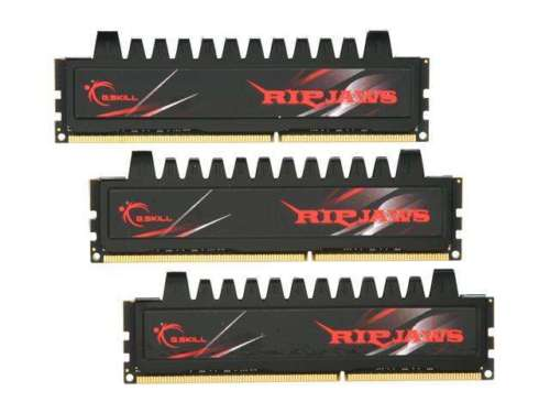 G.SKILL Ripjaws Series 12GB (3 x 4GB) 240-Pin DDR3 SDRAM DDR3 1333 (PC3 10666) D