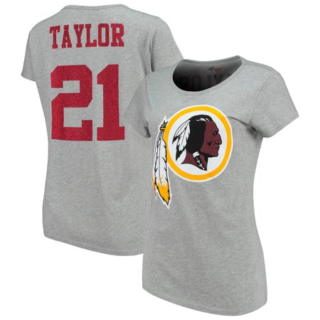 Sean Taylor Washington Redskins G-III 4Her by Carl Banks Women's Glitter Endzone Player Name & Number T-Shirt -