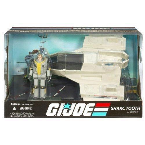 GI Joe 25th Anniversary Sharc Tooth with Deep Six Action Figure Vehicle by