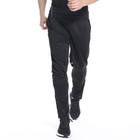 FITTOO Workout Pants Men - Quick Dry Active Sports outdoor fitness Sweatpants Base Layer with Zipper Pockets Workout Pants Men