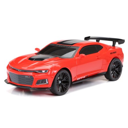 New Bright RC 1:12 Scale Remote Control Sports Car Chevy Camaro GT4.R 2.4GHz USB - Red