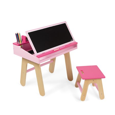 Janod Desk Chair Pink Product Photo