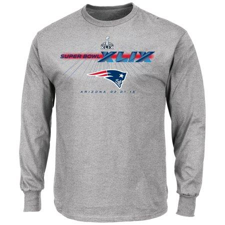 New England Patriots Majestic Nfl Super Bowl Xlix  Step Aside  L S Mens T Shirt
