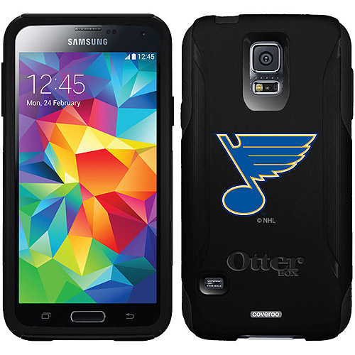St. Louis Blues Primary Logo Design on OtterBox Commuter Series Case for Samsung Galaxy S5