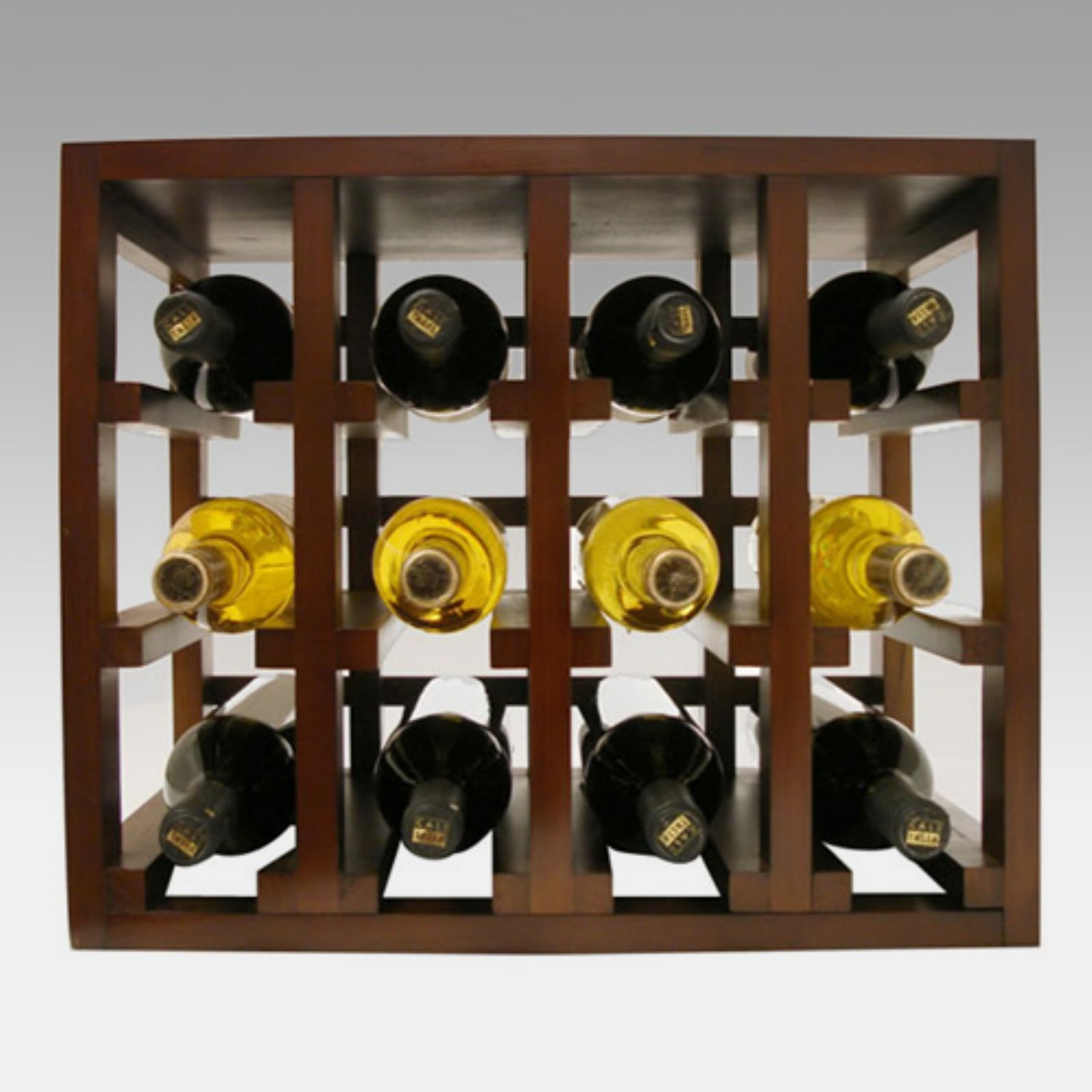 Vinotemp 12-Bottle Stackable Wine Rack