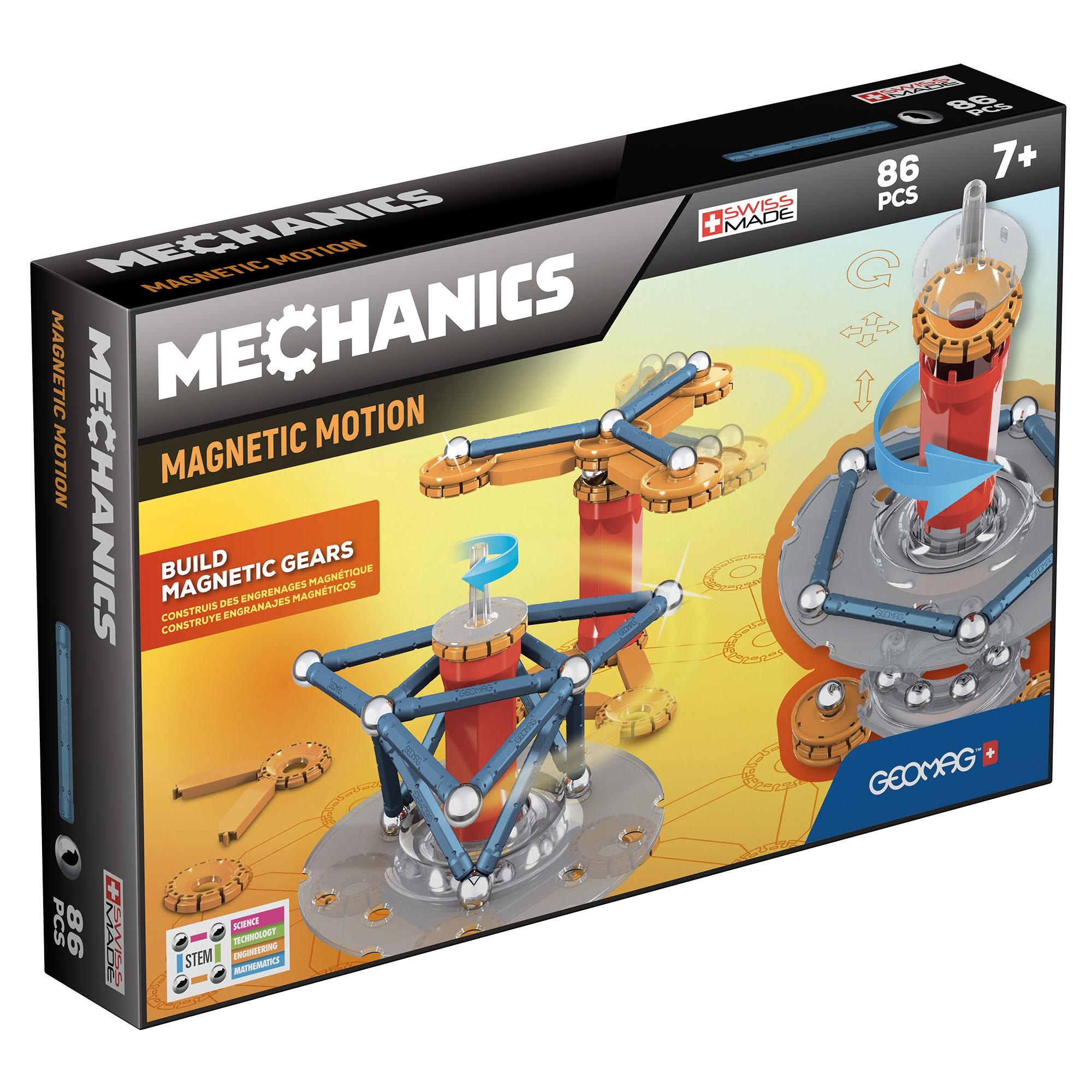 Geomag Mechanics Magnétique Construction Set 86 pièces multi-couleur