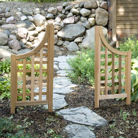 Andover Arch (Andover Wing Landscape Screen Pair )