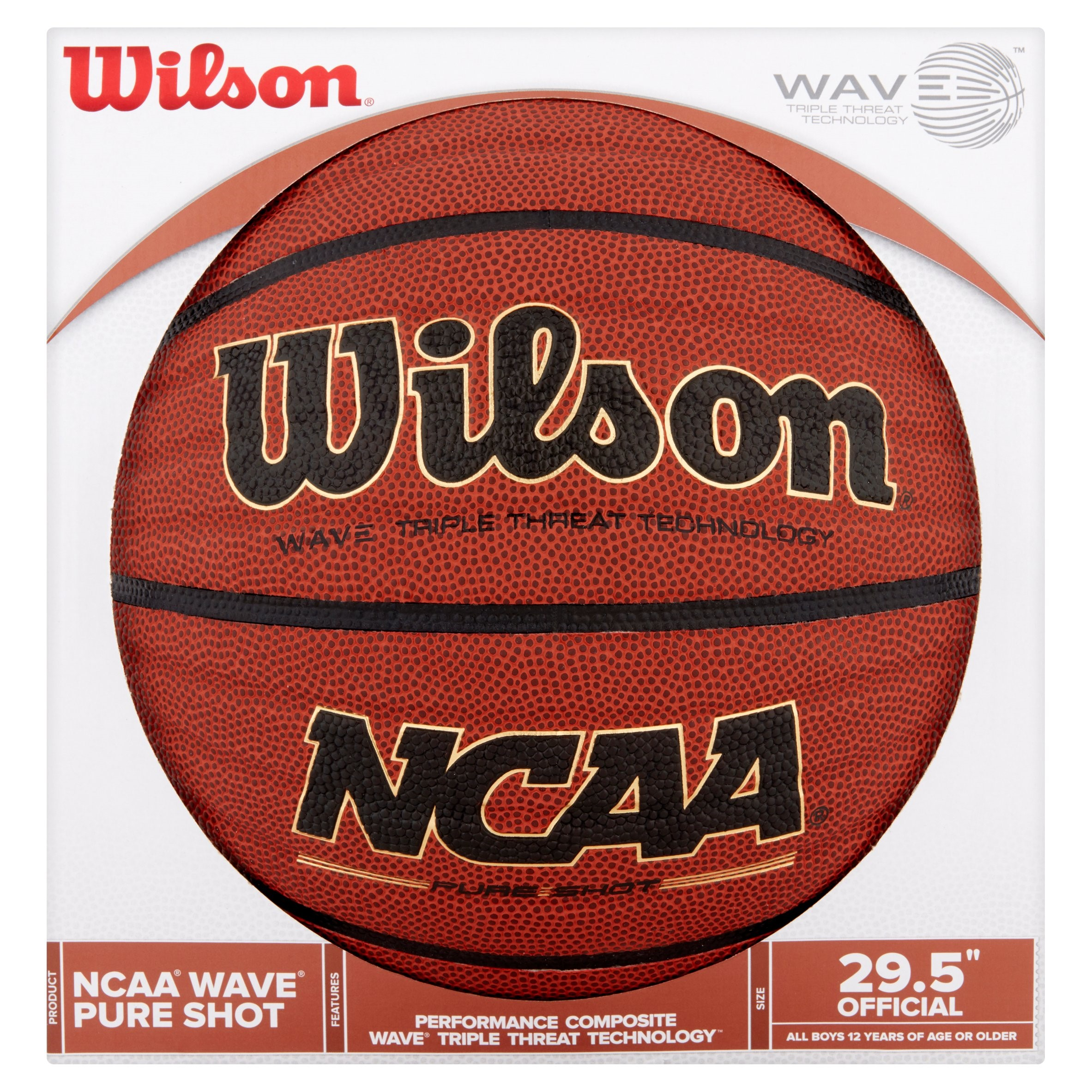 """Click here to buy Wilson NCAA Wave 29.5"""" Basketball by Wilson Sporting Goods Co.."""