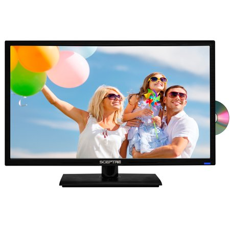 Sceptre 24  Class Fhd  1080P  Led Tv  E246bd F  With Built In Dvd