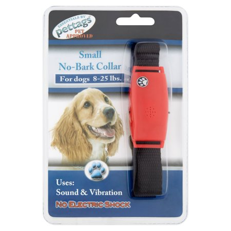 Pettags Small No-Bark Collar for Dogs 8-25 lbs