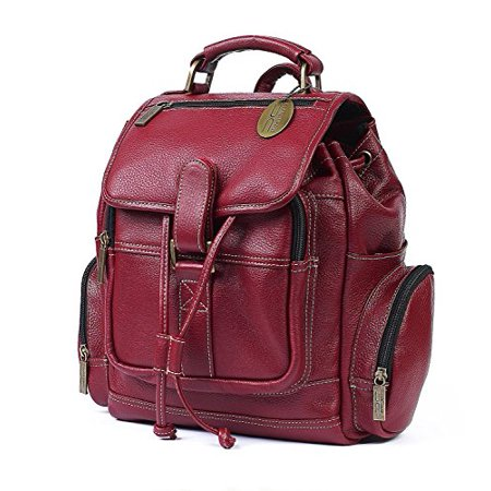 Claire Chase Cowhide Leather Uptown Back Pack