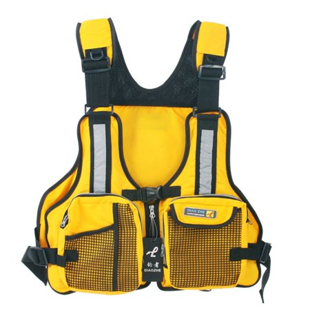 Fancyleo Adult Adjustable Buoyancy Sailing Fly Fishing Kayak Canoeing Life Jacket