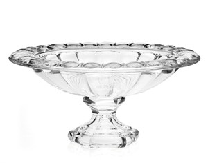 """13"""" Sussex Leaded Crystal Centerpiece Serving Bowl Dish by Godinger"""