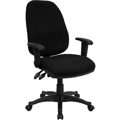 Ergonomic Computer Chair with Height Adjustable Arms Multiple