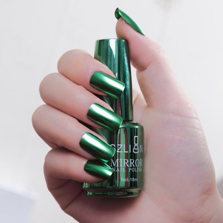 Metallic Nail Polish Magic Mirror Effect Chrome Nail Art Polish Varnish