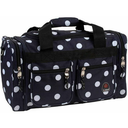 Rockland 19u0022 Duffel Bag - Black Dot