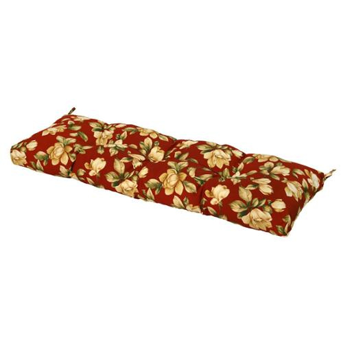 51-inch Outdoor Roma Floral Bench Cushion