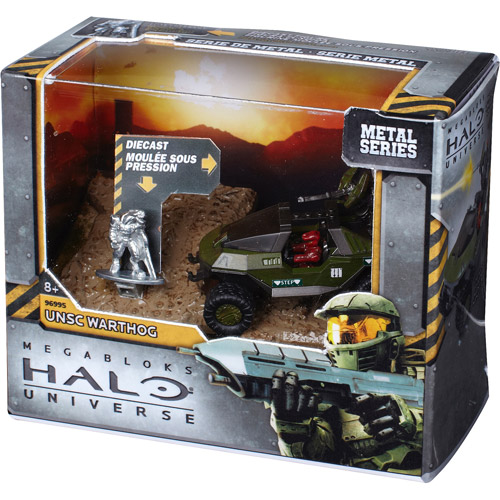 Mega Bloks Halo UNSC Warthog Set