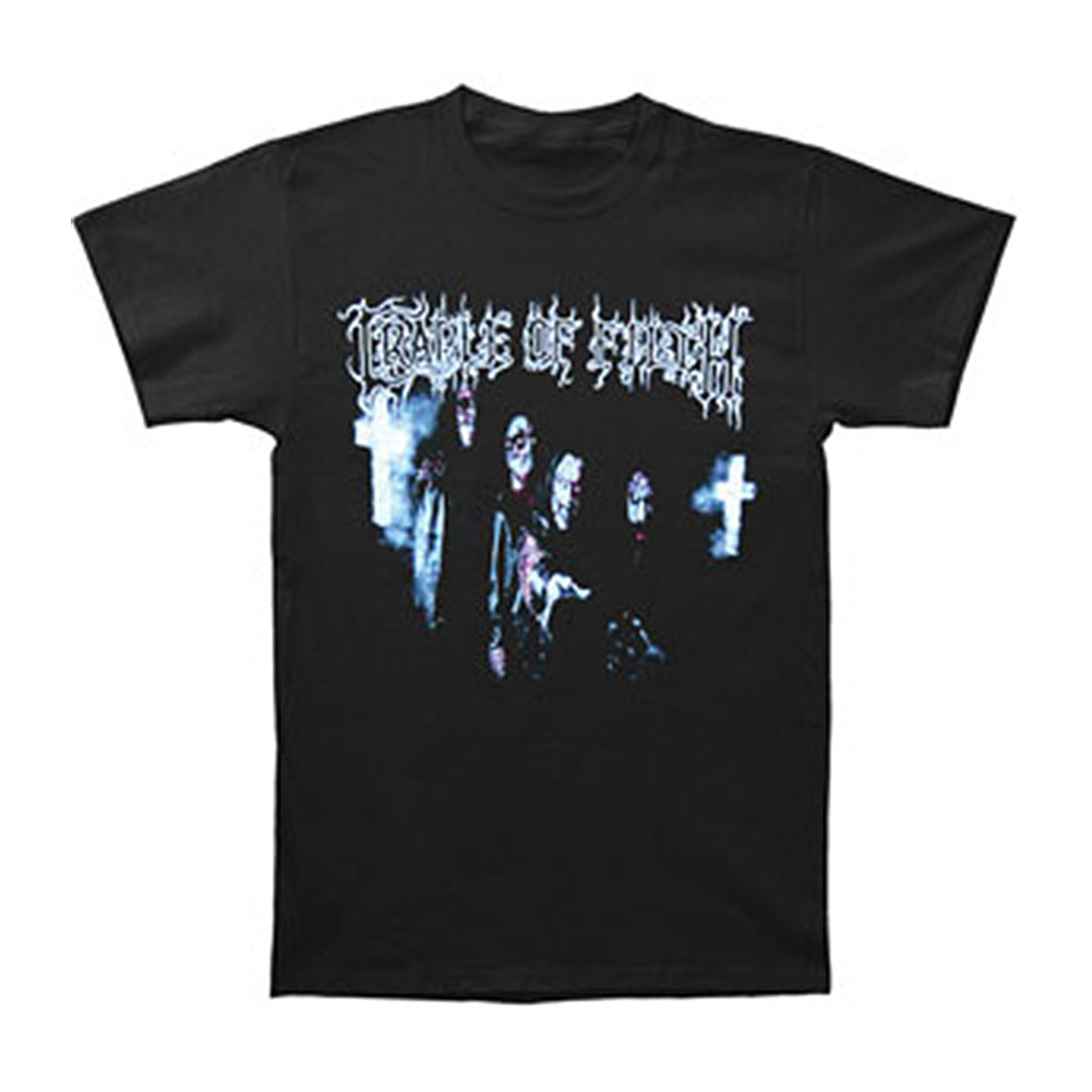 Cradle Of Filth Men's  Jesus Saves T-shirt Black