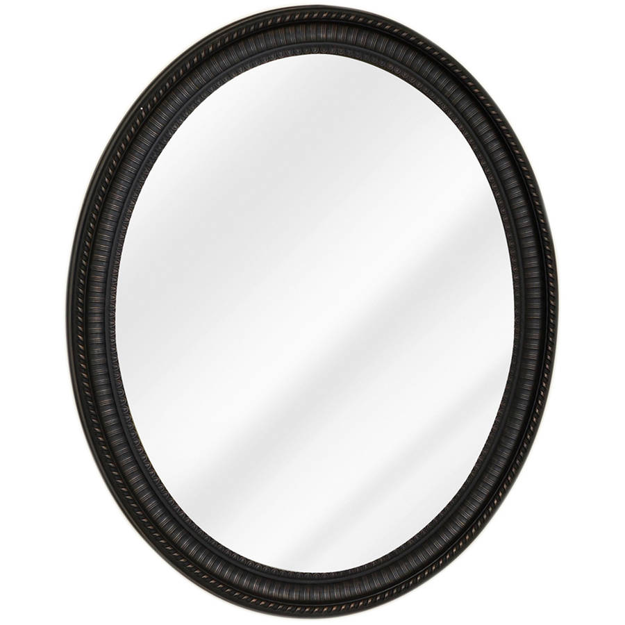 Zenith Bathroom Mirror zenith bmv2532 oil rubbed bronze oval medicine cabinet - walmart