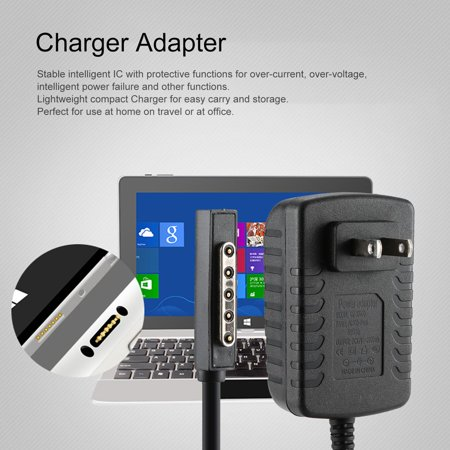 Power Charger Adapter For Microsoft Surface 10.6 RT Tablet Charger US Plug - image 1 of 6