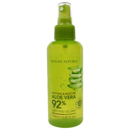 Nature Republic  Aloe Vera Soothing Gel Mist  5 07 fl oz  150 ml