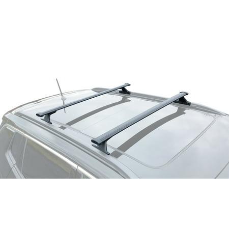 - BRIGHTLINES 2018-2019 Jeep Compass Roof Rack Crossbars
