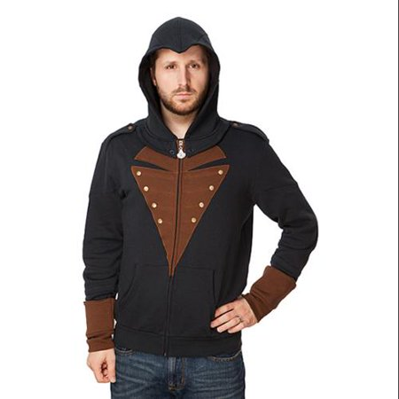 Assassin's Creed Arno Adult Costume Hoodie (Black Flag Assassin's Creed Costume)