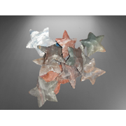 Beauty Agate Crystals Fancy Agate Star shaped Carved Arrowheads Fengshui Healing Crystals Gemstone Gift