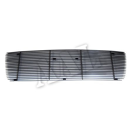 AAL REPLACEMENT BILLET GRILLE / GRILL INSERT For 2007 2008 2009 TOYOTA Tundra 1PC UPPER BOLTON W/O Logo cutout (BLACK) (Toyota Tacoma Grill 2009)