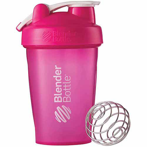20 oz BlenderBottle Classic with Loop, Full Color Pink